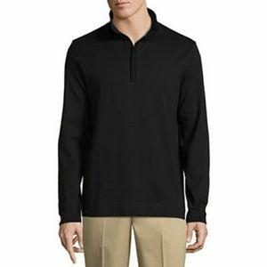 NWOT Claiborne Zip Neck Sweater